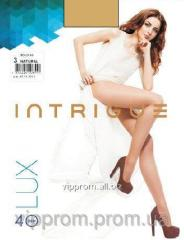 Tights female Lux Intrigue 40 Den 2,3,4,5, black, bronze, corporal, sheyd, code 2030