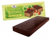 Cake wafer Dominique with chocolate and nut taste