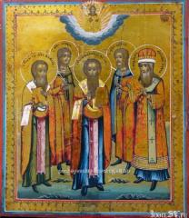Икона избранные святые, Ковчег, Киев