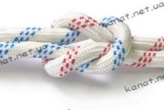 Rope kapron a statics the climbing certified GOST