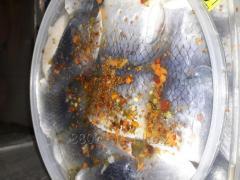 Филе сельди рулет в масле со специями 1.5 кг, 3 кг