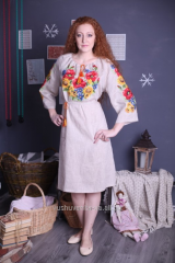 """The dress embroidered """"Solar"""