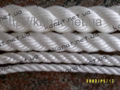 Rope polypropylene hummock twist twisted GOST