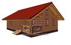 Дом со сруба А3 Проект DD2-469