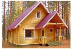 Дом со сруба А6 Проект DD2-420