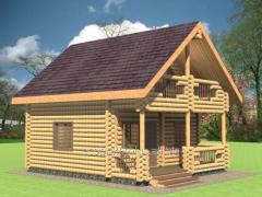 Дом со сруба Волшебный Лес