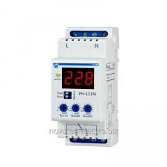 The relay RN-111M voltage, 16A, 220V