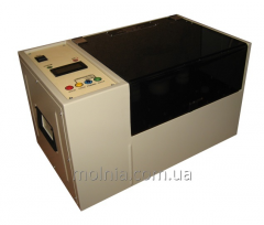 Installation of measurement of puncture voltage of