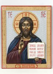"""Icon carved """"Lord Vsederzhitel"""