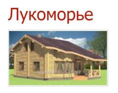 Дом со сруба Лукоморье 150 м.кв