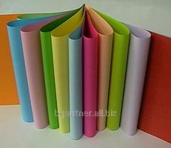 Бумага цветная школьная А4 12л,  шифр:...