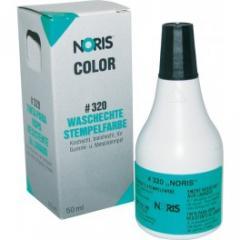 Штемпельная краска для тканей 50мл на спирт. основе черная, арт. 320