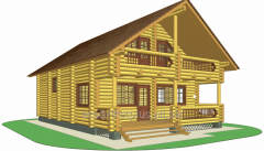 Дом со сруба Матокса  150 м.кв
