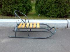 Sledge nurseries metal. 3 models.
