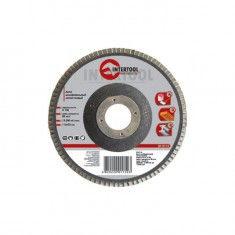 Disk grinding petal 125kh22mm, K100 INTERTOOL