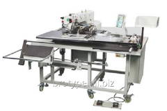 Automatic machine for sewing of a patchpocket of