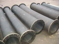 Pipes rubber with a diameter from 50 to 1200 mm