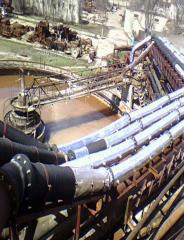 Rubber pipelines