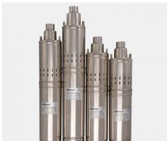 Шнековые скважинные насосы 4S QGD 1,8-100-0.75kW