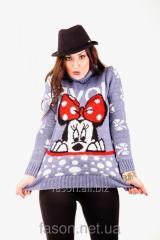 Теплый женский свитер, Claretta