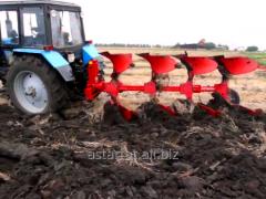 Mounted reversible ploughs series
