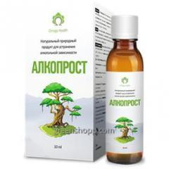 Alkoprost – means of fight against alcoholism.