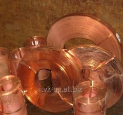 Tape copper 0,4kh20-300mm