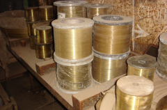 Wire brass L63 F 0,1 coils