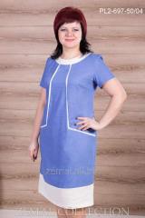 Dress linen PL2-697