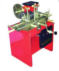 The machine for straightening of disks, the
