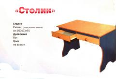 Столик деревянный детский