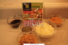 Ingredients food