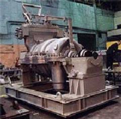 Паровая турбина малой мощности, с противодавлением и производственным регулируемым отбором пара (ПР)