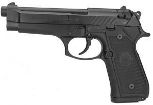 Пистолет пневматический BERETTA 92 FS черный.