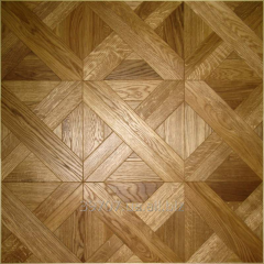 Floor from a modular parquet, Kiev