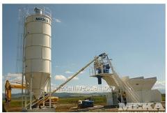 Compact concrete plant S-20