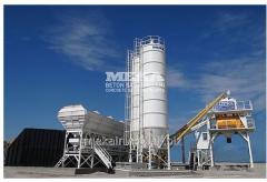 Compact concrete plant S-120