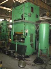 Listoshtampovochny press of m of KES-250