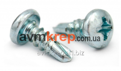 The self-tapping screw for connection mt. profiles