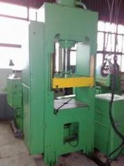 Press hydraulic for pressing of DB2432 plastic