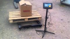 Весы паллетные (торговые, складские) 1500 кг (1,5 т)