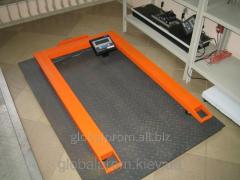 Весы паллетные (торговые, складские) 300 кг (0,3 т)