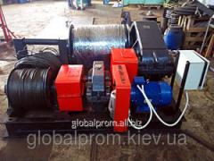 Электрическая лебедка монтажно-тяговая ЛМ (до 15 тонн)