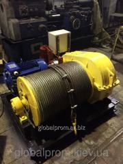 Электрическая лебедка монтажно-тяговая ЛМ (до 5 тонн)