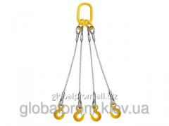 Sling rope chetyrekhvetvevy 4CK to 40 tons