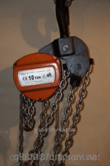 Tal manual chain sextuple (TRShS) - 10 tons