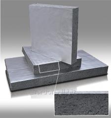 Basalt cardboard folgirovanny 1180*850*19mm