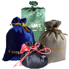 Gift sacks, packing for gifts