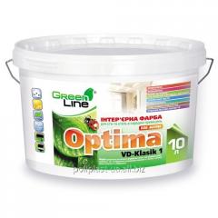Интерьерная краска Optima VD-Klasik 1 для стен и