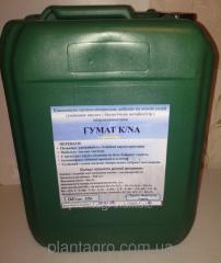 Органо-минеральный коктейль гумат калия/натрия